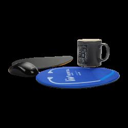 Sünger + Kauçuk Taban Mouse Pad