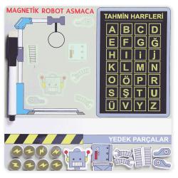 Manyetik Robot Asmaca