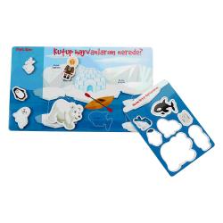 Kutup Hayvanlarını Bul Panosu