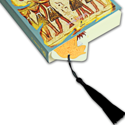 Püsküllü Kitap Ayracı