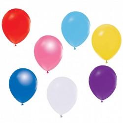Baskısız Renkli Balon